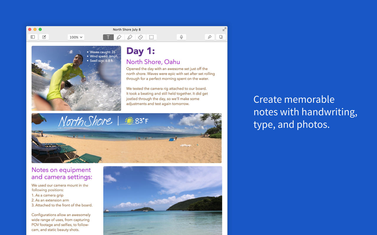 Take note: Notability for Mac is half off this Cyber Monday