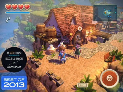 Zelda-inspired adventure game Oceanhorn updated with 'huge' graphics enhancements