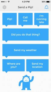 AOL releases Yo-like messaging app Pip for sending short preset messages