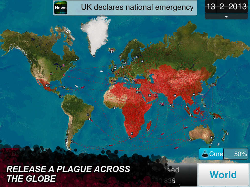 Plague Inc. mutates with special holiday-themed scenario and more