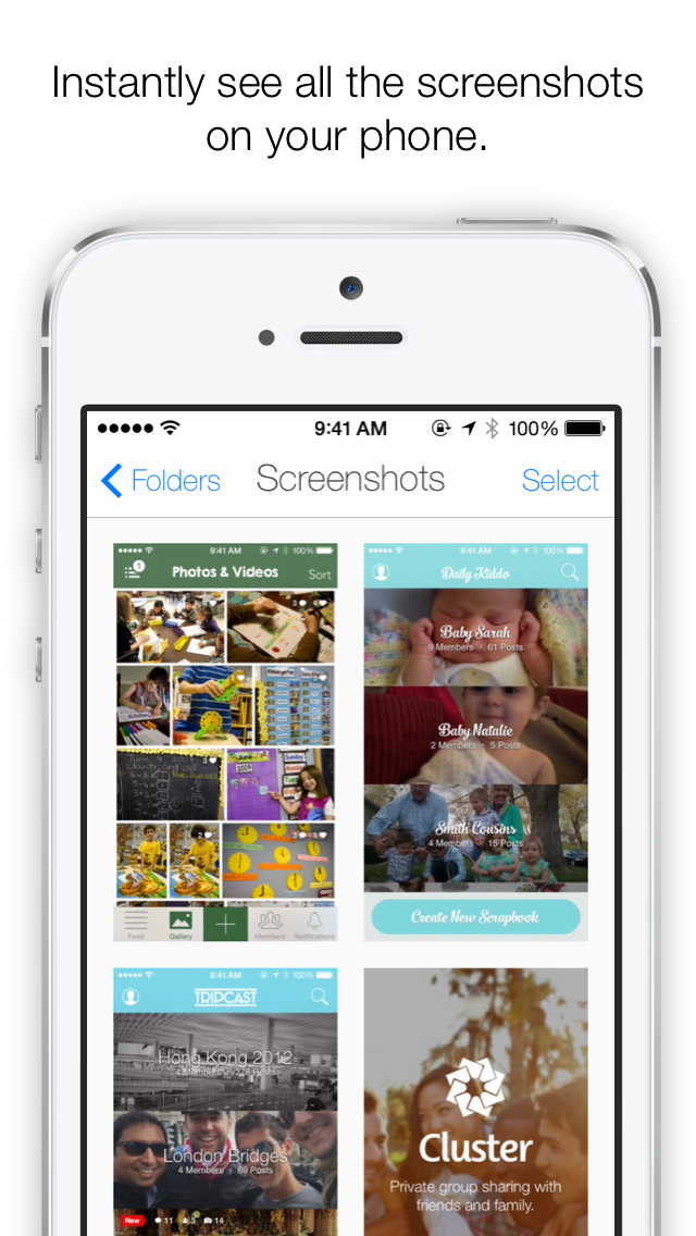 Screenshotter 2.0 features iCloud Drive integration, camera roll deletion and more