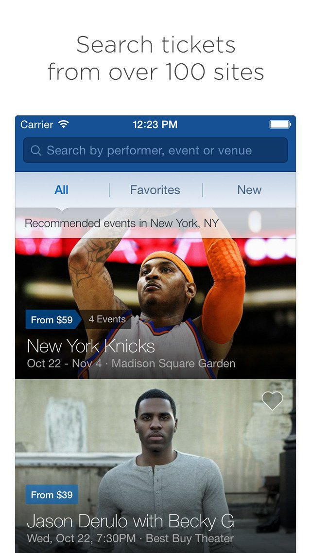 SeatGeek for iOS now lets you purchase event tickets using Apple Pay