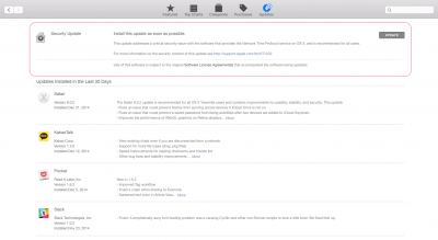 Apple releases OS X security update to address critical Network Time Protocol issue