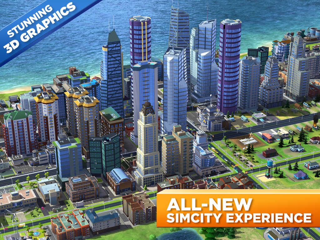 Electronic Arts officially launches SimCity BuildIt on the App Store worldwide