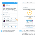 Analyze this: Twitter rolls out tweet analytics on official iPhone app