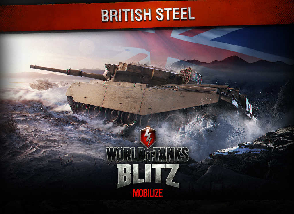 World of Tanks Blitz updated with new British vehicles, cross-platform play and more