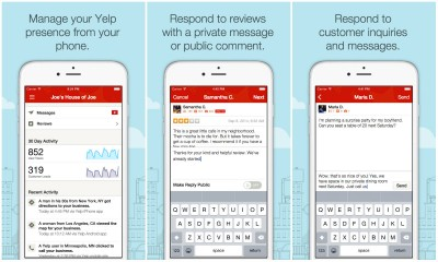 Yelp's new iOS app is now open especially for business owners