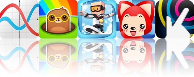 Today's apps gone free: GraphMe, Mole Hammers, Flick Champions and more