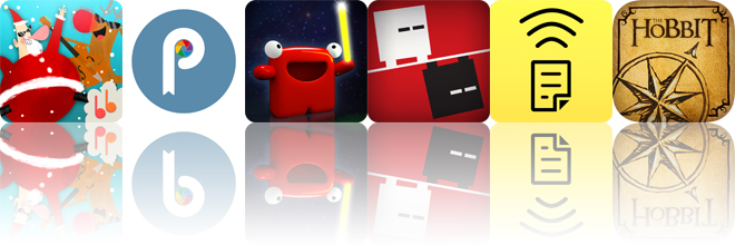 Today's apps gone free: Santa's Merry Band, Pixora, Carl Laser Draw and more