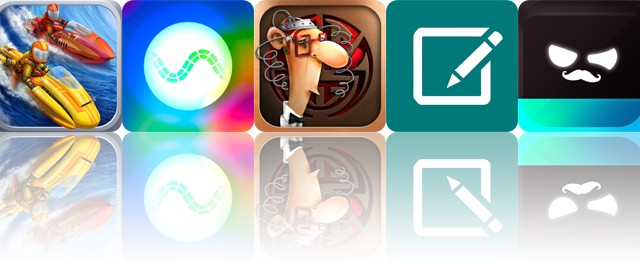 Today's apps gone free: Riptide GP2, Synesthetic, IQ Mission and more