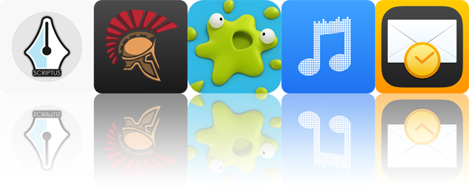 Today's apps gone free: Scriptus, Hoplite, Smack That Gugl and more