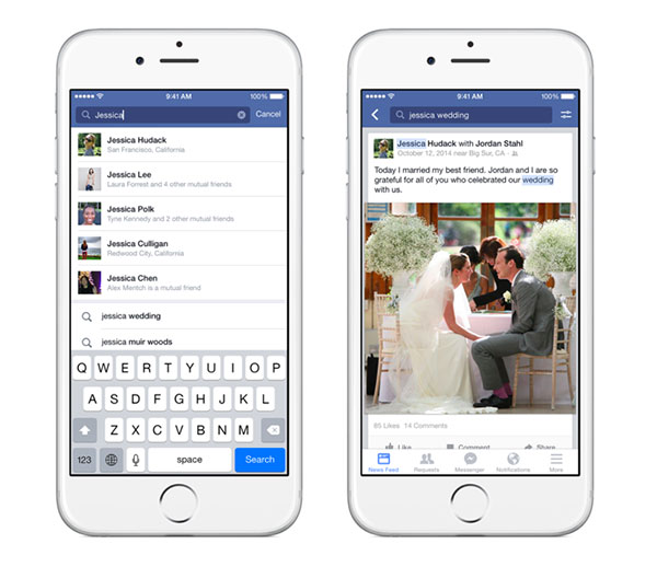 Facebook's Graph Search is finally coming to its popular iOS app