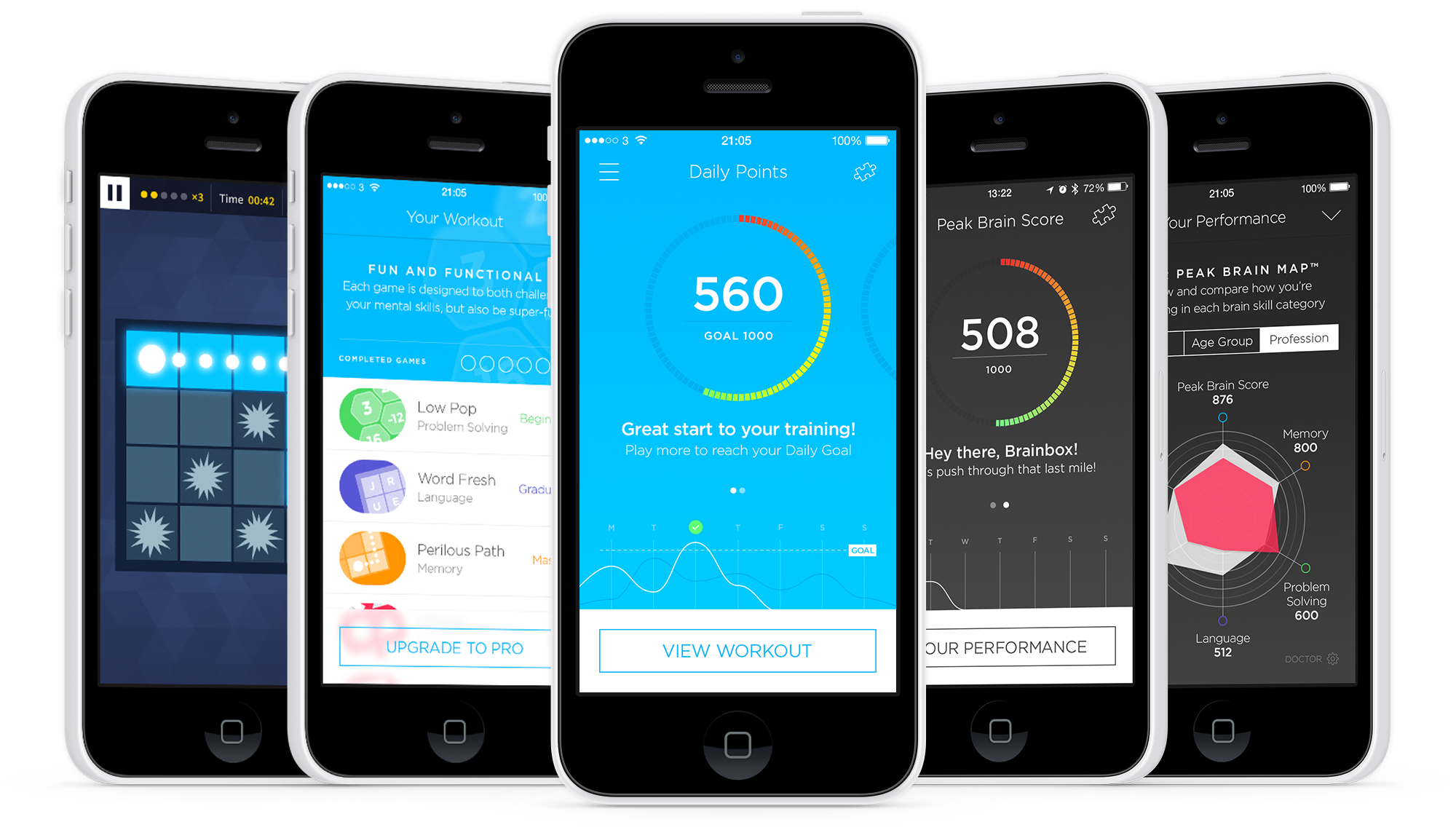 Exercise your brain for less with Peak for the iPhone and iPad