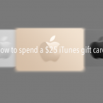 How to spend a $25 iTunes gift card for Dec. 5, 2014