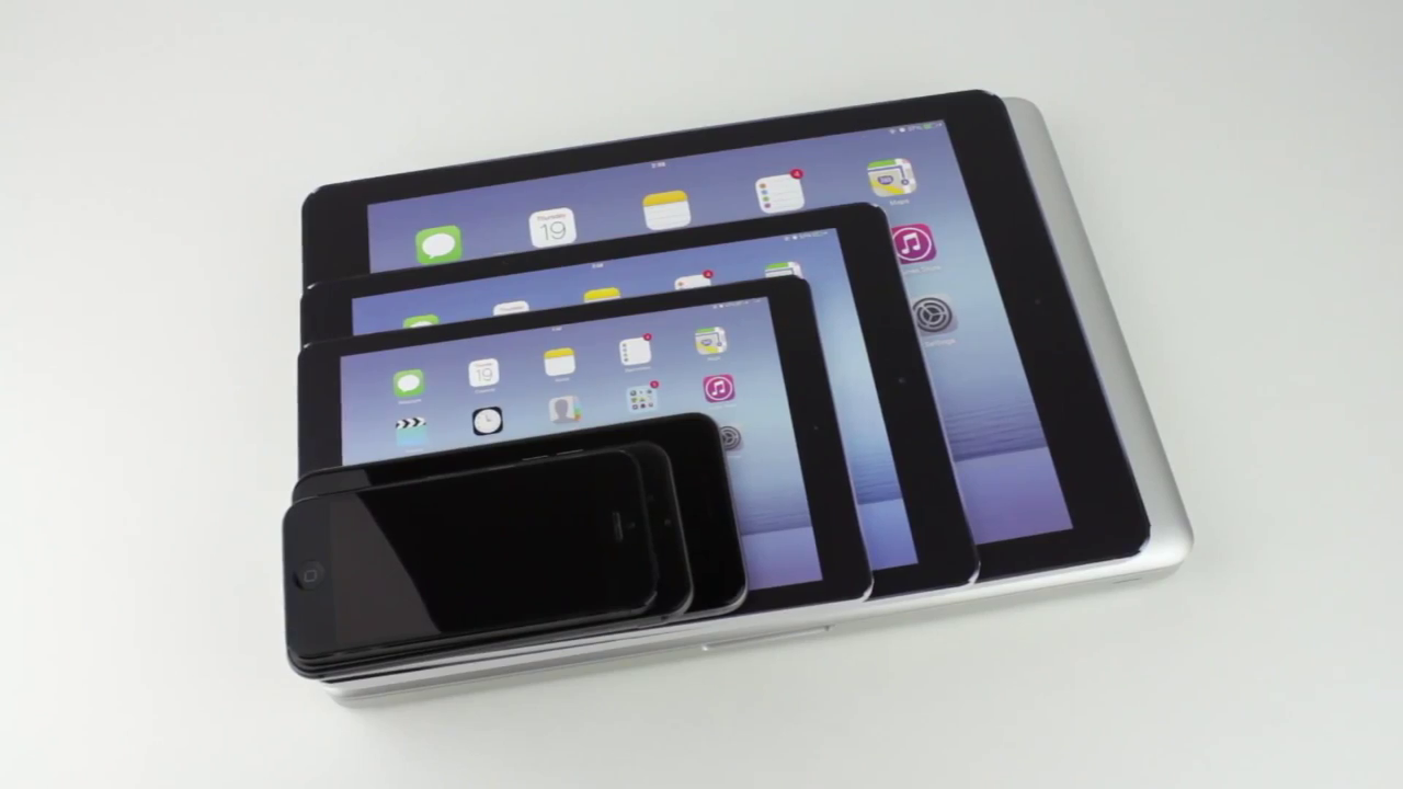Video compares size of 12.2-inch 'iPad Air Plus' mockup with actual Apple devices