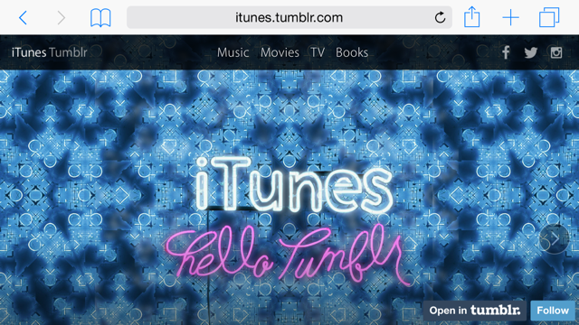 Apple launches new iTunes blog on Tumblr initially highlighting Best of 2014