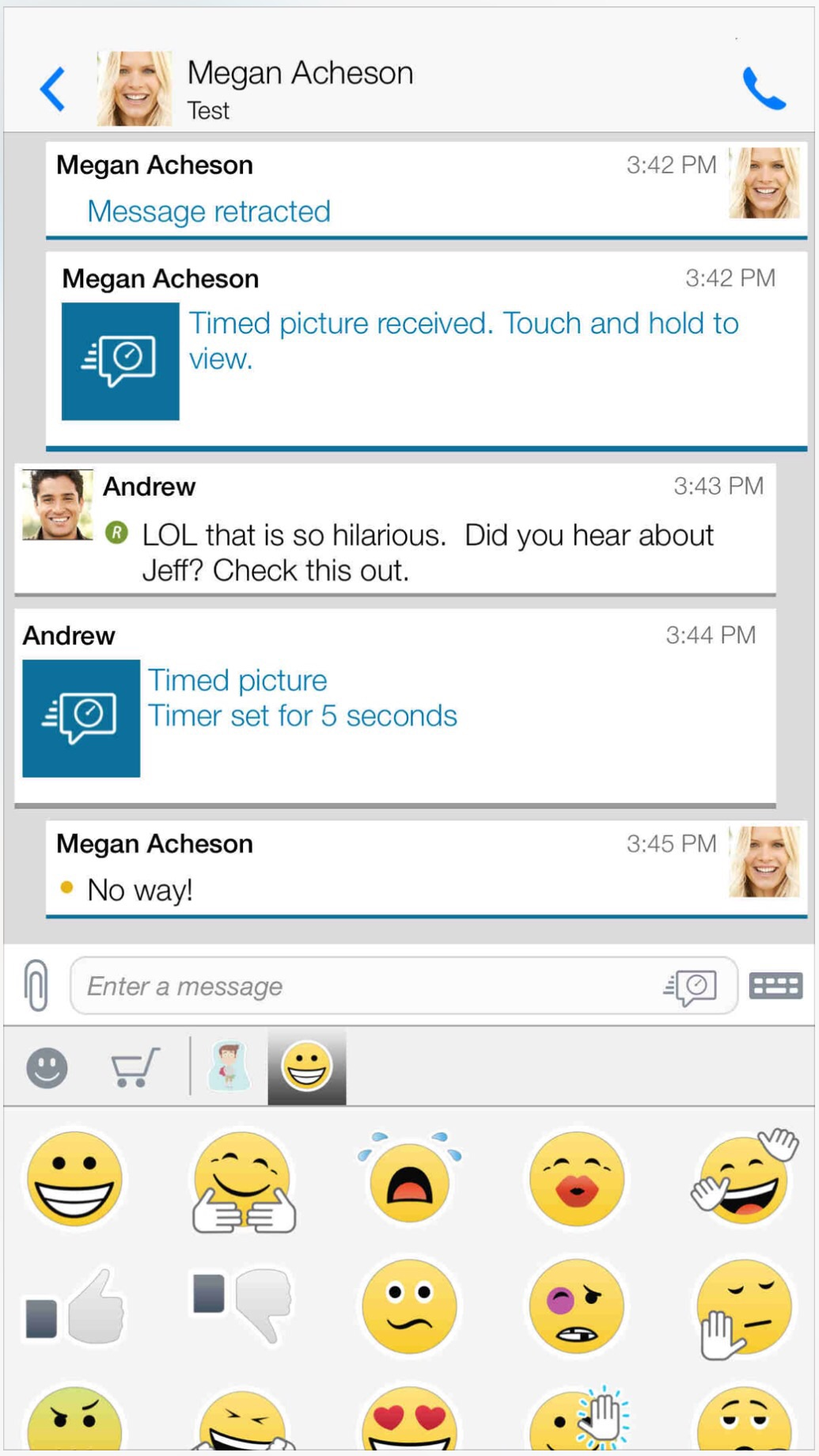 BlackBerry updates BBM with iOS 8 redesign, iPhone 6 support and more features