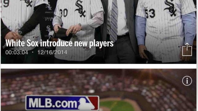 MLB.com At Bat scores with new update including iPhone 6 support and more features