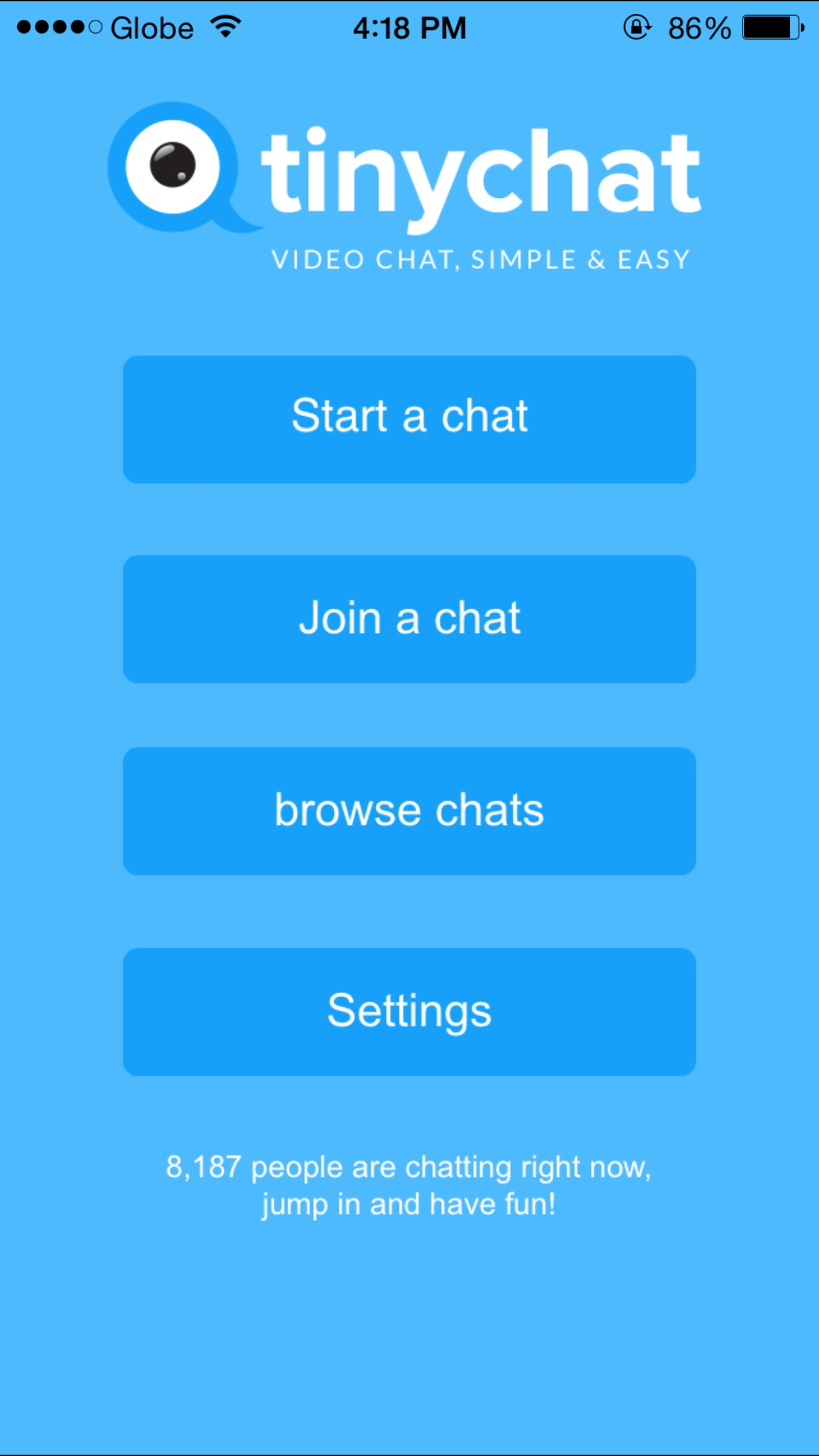 Following Paltalk acquisition, Tinychat goes free and goes 5.0 on iOS with all-new interface