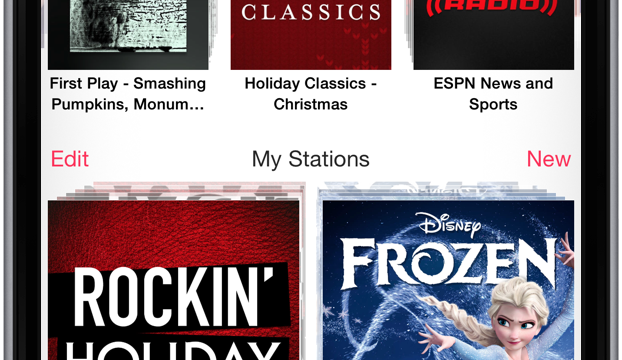 Christmas tunes arrive on iTunes Radio