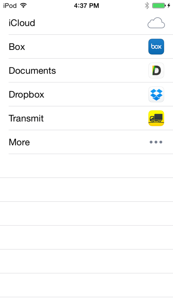 Apple reverses course and will allow Transmit for iOS to send files to iCloud Drive