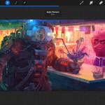 Feature-rich iPad drawing app Procreate updated with Palm Support and other new features