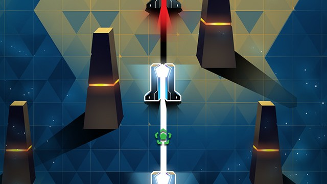 Be quick and move to the beats in HEX:99, a merciless but addictive twitch reflex game