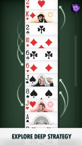 You'll have to strategize and plan ahead to get the best score in this new take on solitaire.