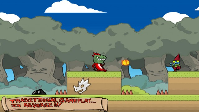 It's time to undo all of your hard work in Spoiler Alert, a challenging new reverse platformer game
