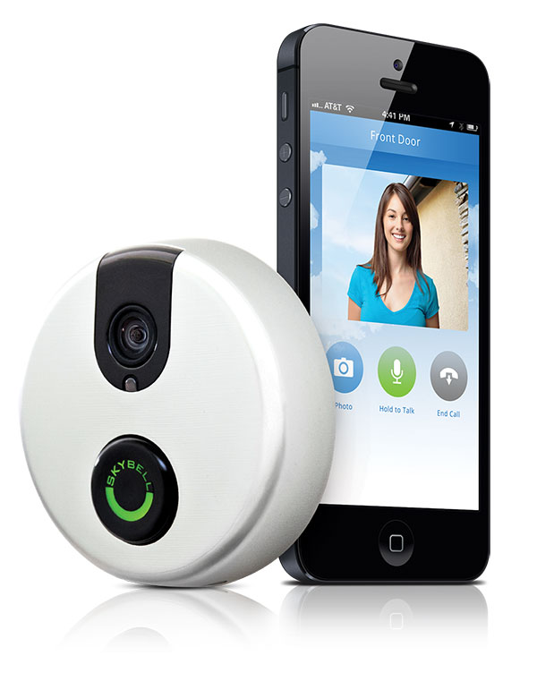A new version of SkyBell's iPhone-enabled video doorbell rings its way onto the market
