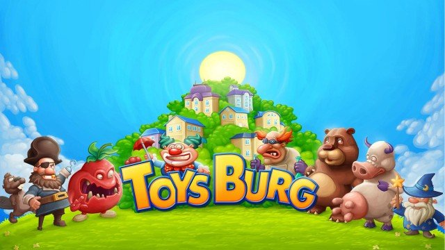 Play with toys like never before in the upcoming Toysburg