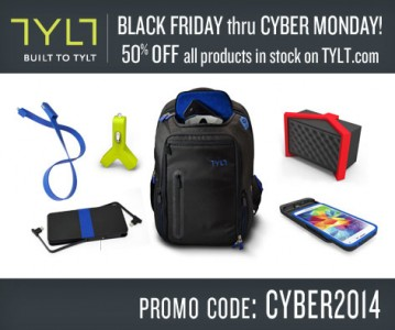Tylt and Twelve South are offering some nice Cyber Monday discounts on iOS accessories