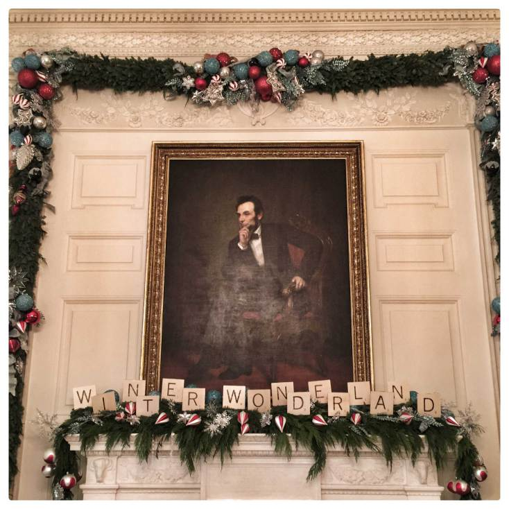 A White House Christmas courtesy of the iPhone 6 Plus