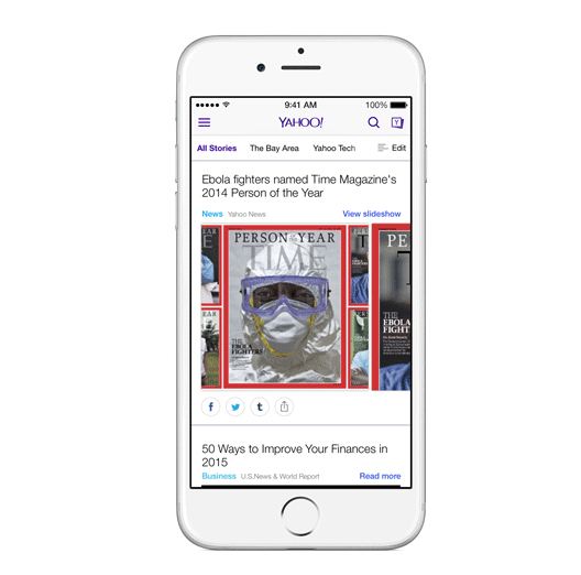Yahoo for iOS updated with local news, commenting and more