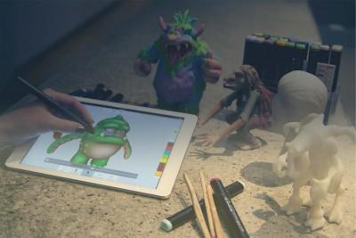 Autodesk's 123D Creature character creation app evolves into 123D Sculpt+