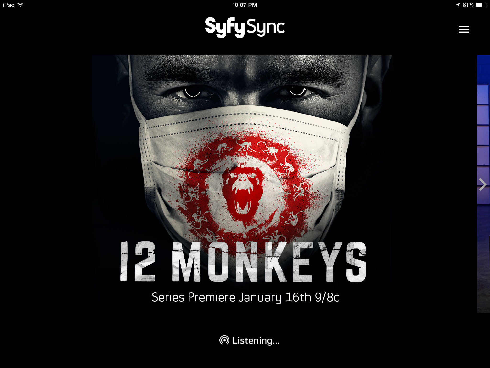 The new Syfy series '12 Monkeys' will sync with your Philips Hue smart bulbs