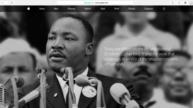 Apple honors life and legacy of Martin Luther King Jr.