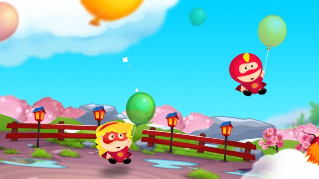 Chillingo releases cute and colorful balloon-popping match-three puzzler Hero Pop