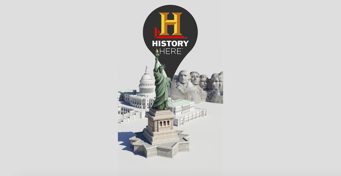 Interactive location guide History Here goes 3.0 with new design and new features