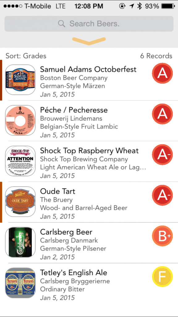 Catalog all of your favorite craft beers and discover new ones with TapCellar