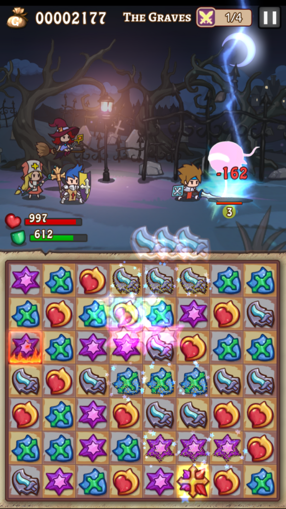 Hero Emblems is a challenging new match-three RPG that you won't be able to put down