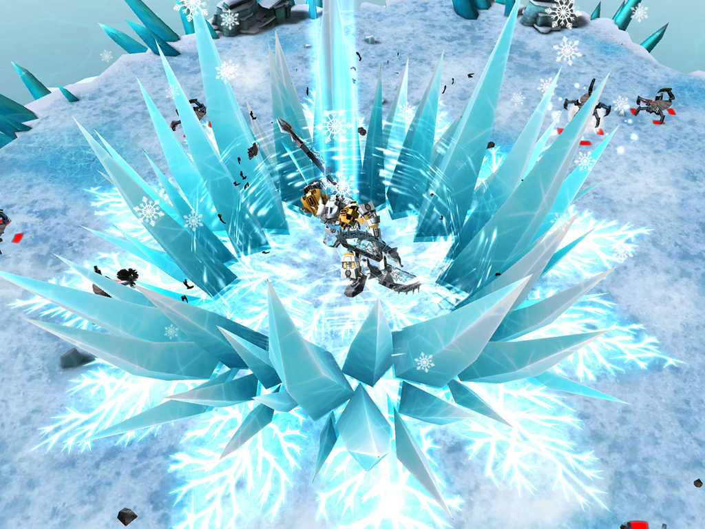 Find the masks of power and master the elements in Lego Bionicle Mask of Creation