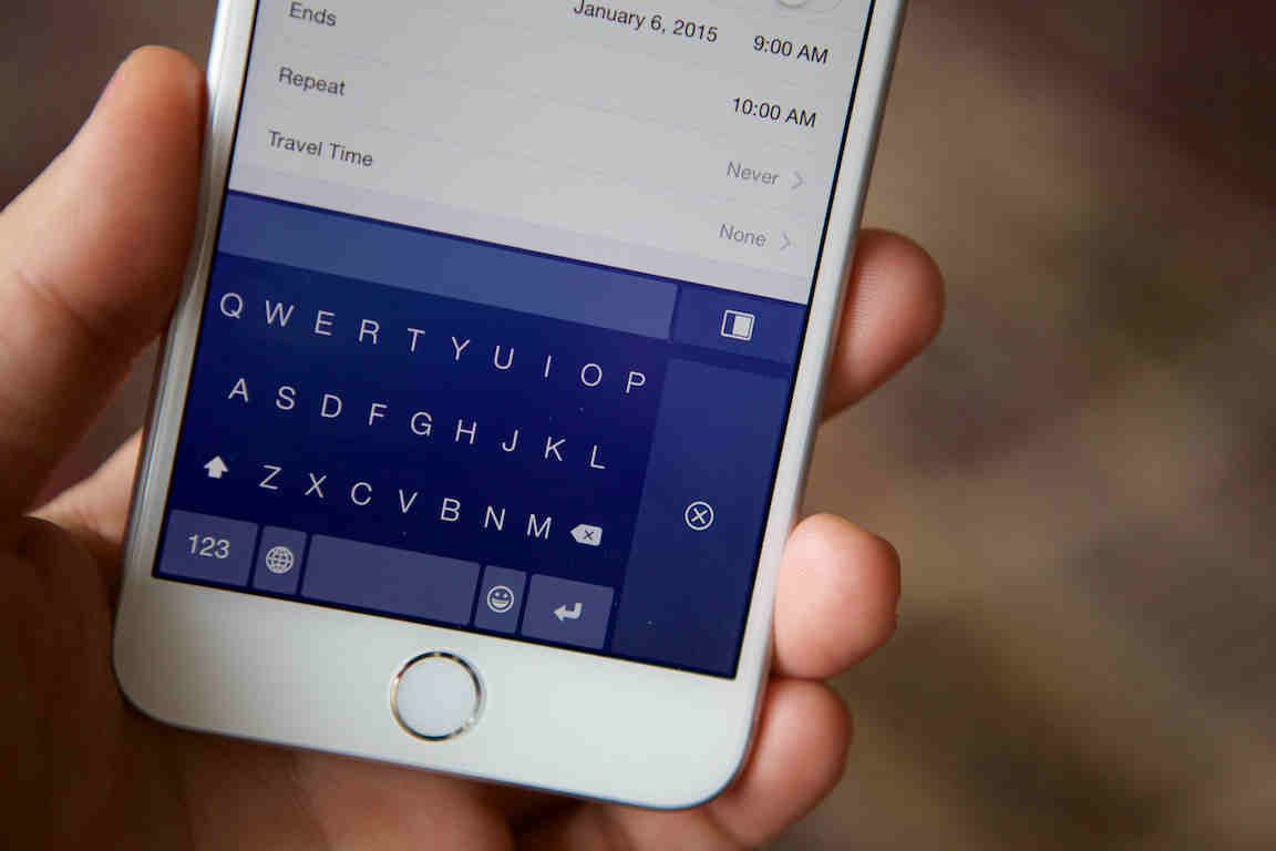 Minuum keyboard app updated with iPhone 6 enhancements and more features