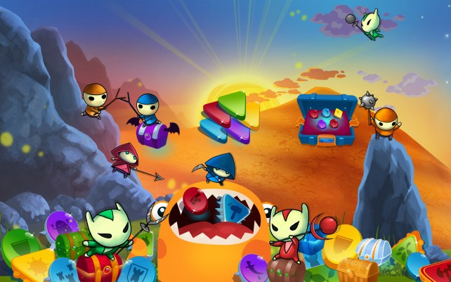 Sequel to popular Mushroom Wars strategy game takes off and heads to space