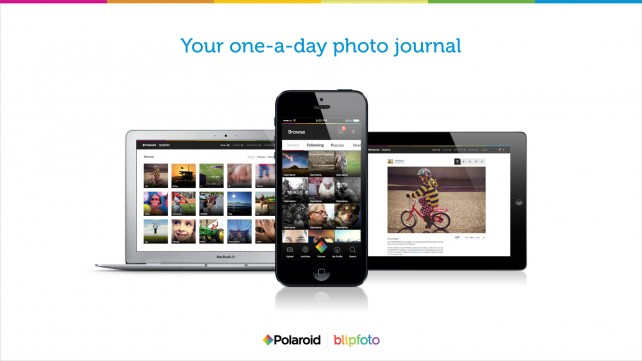 Polaroid takes a shot at photo-a-day journaling by rebranding Blipfoto