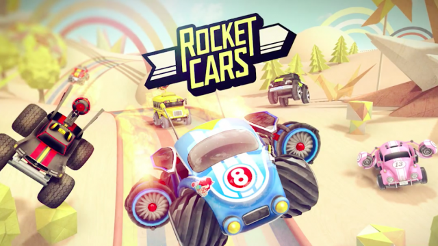 Rocket Cars blows the competition away with its one-touch racing gameplay