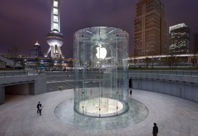 The newest Apple retail store in China has a familiar look