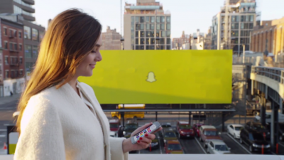 Snapchat now lets you swipe to discover stories from popular brands