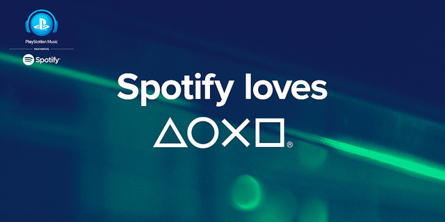 PlayStation Music with Spotify