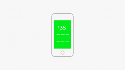 Square Cash offers added security by integrating with Touch ID for sending money
